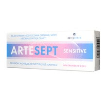Artesept Sensitive, opatrunek w żelu, 20 ml