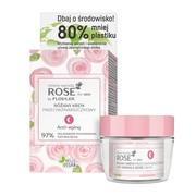 FlosLek, Rose for skin, różany krem przeciwzmarszczkowy, na noc, 50 ml