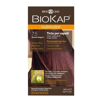 Biokap Nutricolor, farba do włosów, 7.5 mahoniowy blond, 140 ml