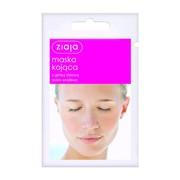 Ziaja, kojąca maska do twarzy z glinką różową, 7 ml