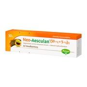 Neo-Aesculan, (50 mg+5 mg)/g, żel doodbytniczy, 30 g
