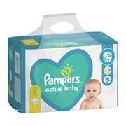 Pampers Active Baby 2 (4−8 kg), pieluszki jednorazowe, 96 szt.