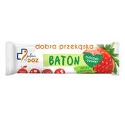 Plan by DOZ, Baton owocowo-owsiany, jabłko truskawka, 40 g