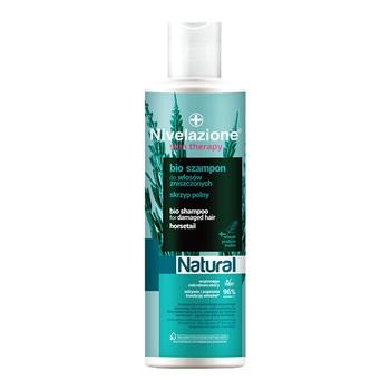 Nivelazione Skin Therapy Natural, Bio szampon do włosów zniszczonych, 300 ml