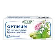 Optimum Tabletki uspokajające Labofarm, tabletki powlekane, 30 szt.