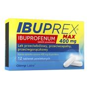 Ibuprex Max, 400 mg, tabletki powlekane, 12 szt.