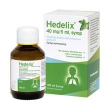 Hedelix, 40 mg/5 ml, syrop, 100 ml