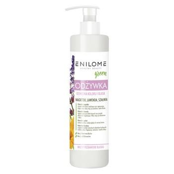 Enilome Healthy Beauty Green, odżywka ochrona koloru i blask, 300 ml