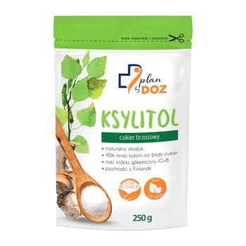 Plan by DOZ Ksylitol, brzozowy, 250 g