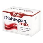 Diohespan max, 1000 mg, tabletki, 60 szt.