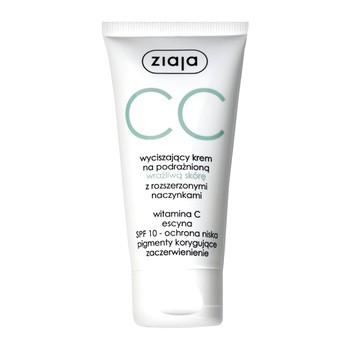 Ziaja CC, wyciszający krem na podrażnioną, wrażliwą skórę z rozszerzonymi naczynkami, 50 ml