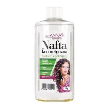 New Anna Cosmetics, nafta kosmetyczna, płyn z pokrzywą, 120 g