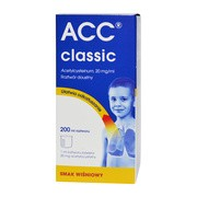 ACC classic, (20 mg/ml), roztwór doustny, 200 ml