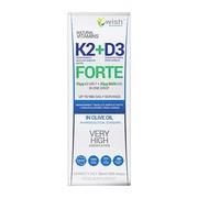 Wish Witamina K2 MK-7 + D3 Forte, krople, 30 ml