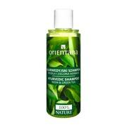 Orientana, ajurwedyjski szampon do włosów, neem i zielona herbata, 210 ml