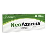 Neoazarina, 10 mg + 316 mg, tabletki, 10 szt.
