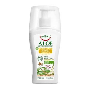Equilibra, nawilżający żel aloesowy do higieny intymnej, 200 ml