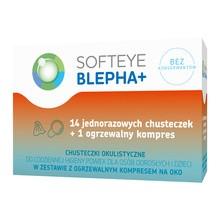 Softeye Blepha+, chusteczki okulistyczne, 14 szt. + kompres