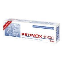 Retimax 1500, maść ochronna z witaminą A, 30 g