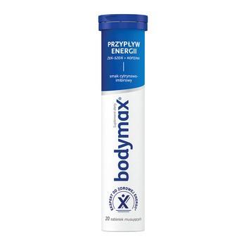 Bodymax Przypływ Energii, tabletki musujące, 20 szt.
