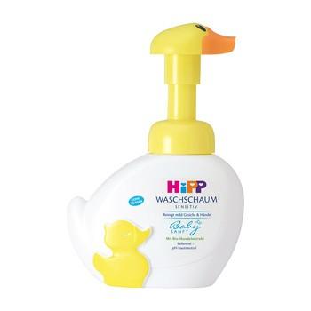 HiPP Babysanft, pianka kaczuszka do mycia twarzy i rąk, 250 ml