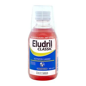 Eludril classic, płyn do płukania jamy ustnej,  200 ml