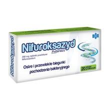 Nifuroksazyd Polfarmex, 200 mg, tabletki powlekane, 20 szt.
