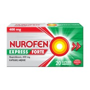 Nurofen Express Forte, 400 mg, kapsułki miękkie, 20 szt.