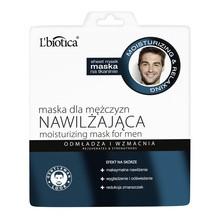 L`Biotica, nawilżająca maska na tkaninie dla mężczyzn, 23 ml
