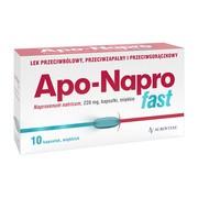 Apo-Napro Fast, 220 mg, kapsułki miękkie, 10 szt.