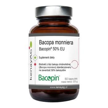 Bacopa monniera Bacopin 50% EU, kapsułki, 60 szt.