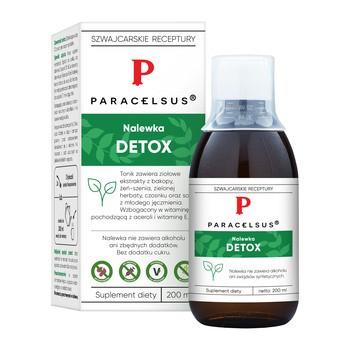 Nalewka Paracelsusa: Detox, płyn, 200 ml