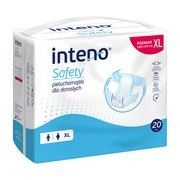 Inteno Safety Pieluchomajtki dla dorosłych, XL, 20 szt.