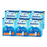 Zestaw 6x Bebilon 4 Pronutra-Advance, mleko modyfikowane, proszek, 1100 g