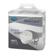 Molicare Mobile Premium 10K, pieluchomajtki rozmiar L, 14 szt.