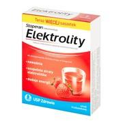 Elektrolity, proszek, smak truskawkowy, 7 saszetek