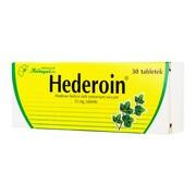Hederoin, 15 mg, tabletki, 30 szt.