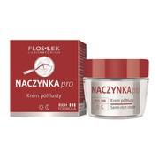 FlosLek Laboratorium Naczynka Pro, krem półtłusty, 50 ml