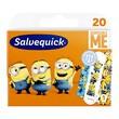 Salvequick Minions, plastry, mix, 20 szt. (Minionki)