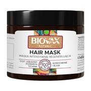 Biovax Botanic, maska intensywnie regenerująca, ocet jabłkowy, rozmaryn, 250 ml