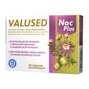 Valused Noc Plus, tabletki powlekane, 30 szt.