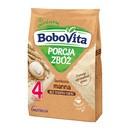 BoboVita Porcja Zbóż, kaszka bezmleczna, manna, 4 m+, 170 g