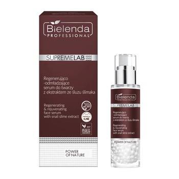 Bielenda Professional SupremeLAB Power of Nature, regenerująco - odmładzające serum do twarzy z ekstraktem ze śluzu ślimaka, 30 g