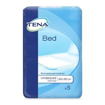 TENA Bed Normal, podkłady chłonne, 60 x 90 cm, 5 szt.