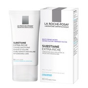 La Roche-Posay, Substiane [+], Extra Riche, odbudowujący krem przeciwstarzeniowy, 40 ml