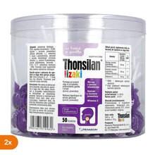 Thonsilan, lizaki, 50 szt. x 2 opakowania