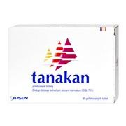 Tanakan, 40 mg, tabletki powlekane, 90 szt. (import równoległy, Delfarma)