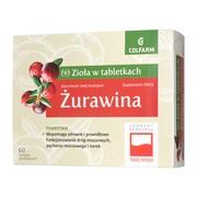 Żurawina, tabletki powlekane, 60 szt.