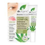 Dr.Organic Hemp Oil, intensywne serum pod oczy z organicznym olejem z konopi siewnych, 15 ml