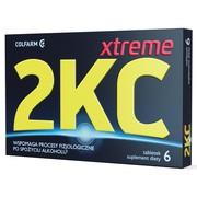 2KC Xtreme, tabletki powlekane, 6 szt.